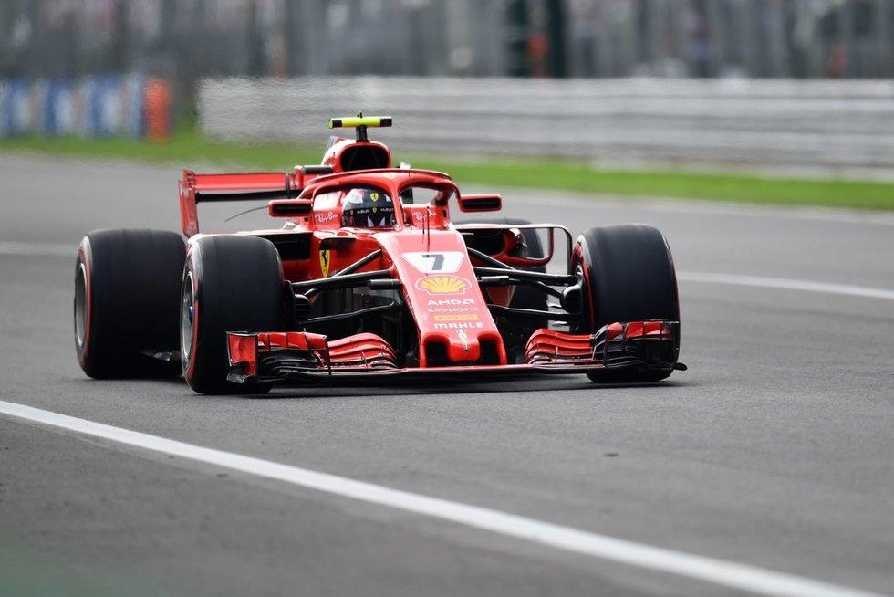 Italijos GP kvalifikaciją laimėjo K.Raikkonenas. (nuotr. SCANPIX)