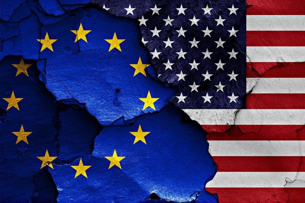 Europos Sąjunga ir JAV (nuotr. Fotolia.com)