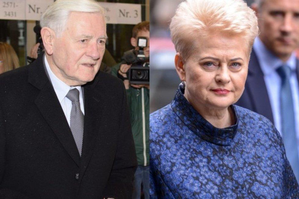 Valdas Adamkus ir Dalia Grybauskaitė (tv3.lt fotomontažas)