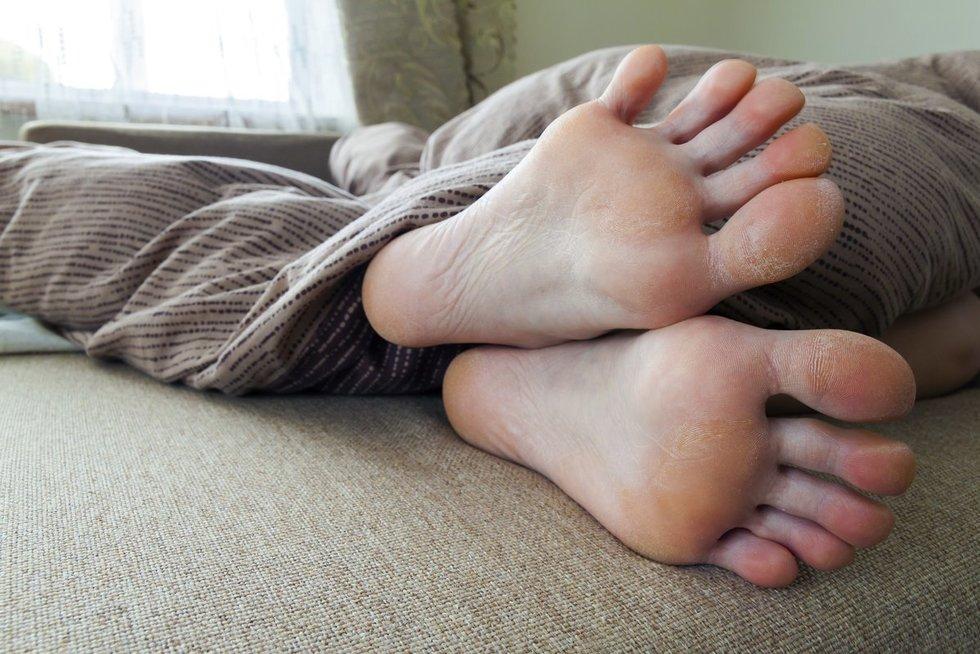 Pėdos (nuotr. 123rf.com)