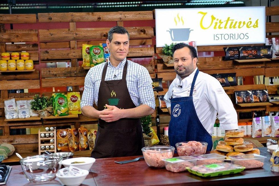 """TV3 kulinarinė pokalbių laida """"Virtuvės istorijos"""" (nuotr. Fotopro) (nuotr. TV3)"""