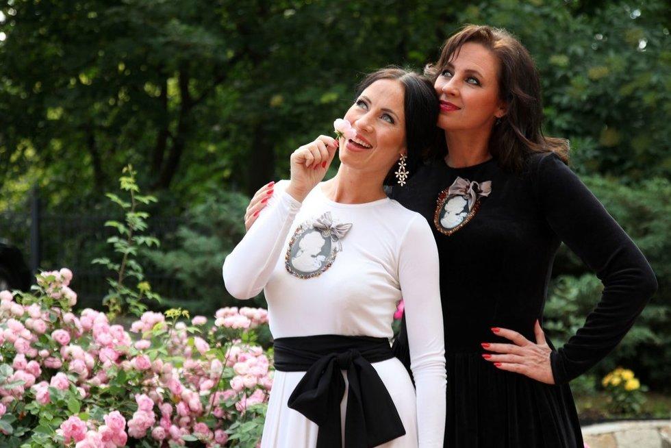 Ingridos ir Livetos fotosesija (nuotr. Organizatorių)