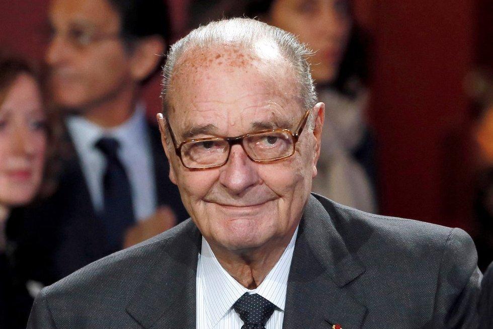Mirė buvęs Prancūzijos prezidentas Jacquesas Chiracas (nuotr. SCANPIX)