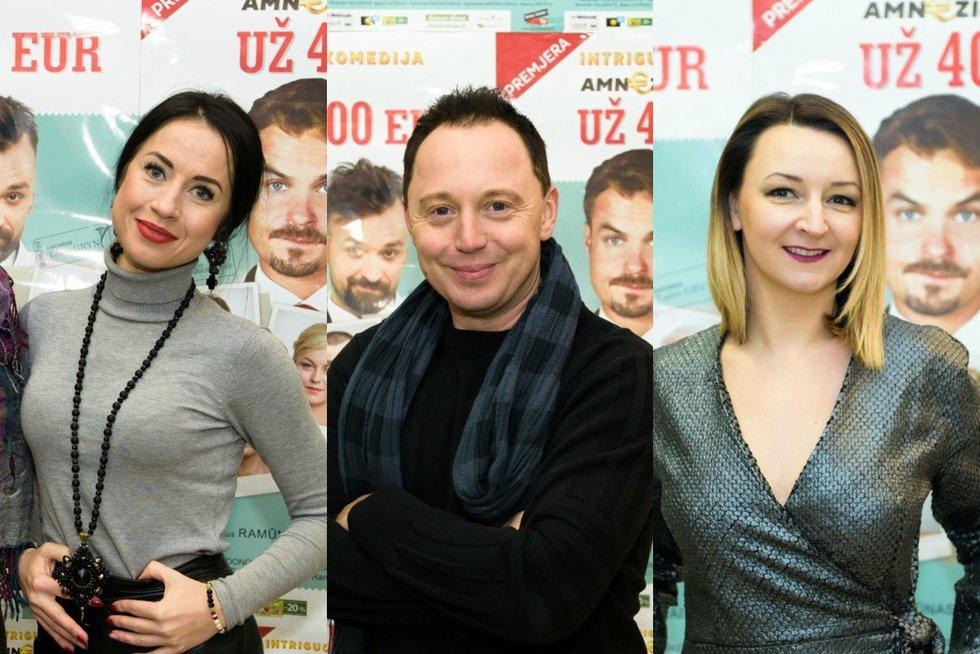 Spektaklio premjeroje Kaune – būrys žinomų teatro mylėtojų (nuotr. Organizatorių)
