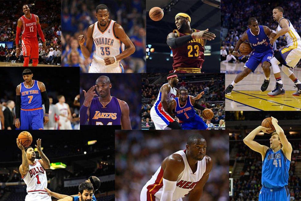 NBA daugiausiai uždirbantys (nuotr. SCANPIX)