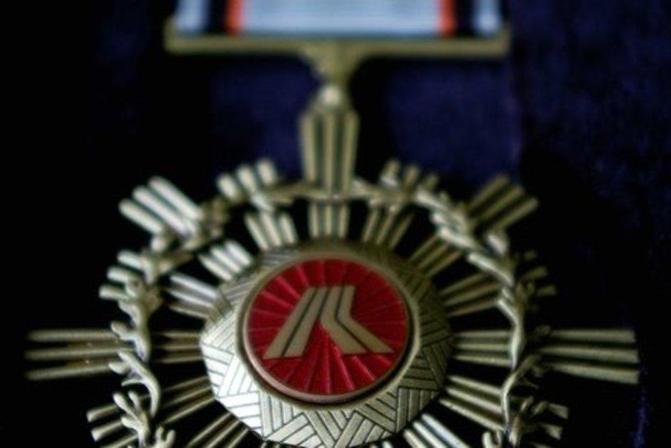 Medalis (nuotr. Organizatorių)
