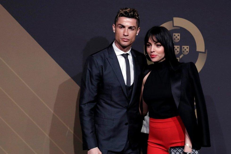 Cristiano Ronaldo ir Georgina Rodriguez (nuotr. SCANPIX)