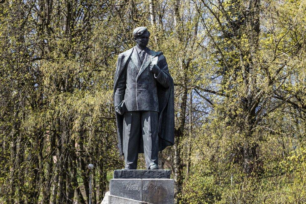 Petro Cvirkos paminklas (nuotr. Fotobankas/Vygintas Skaraitis)