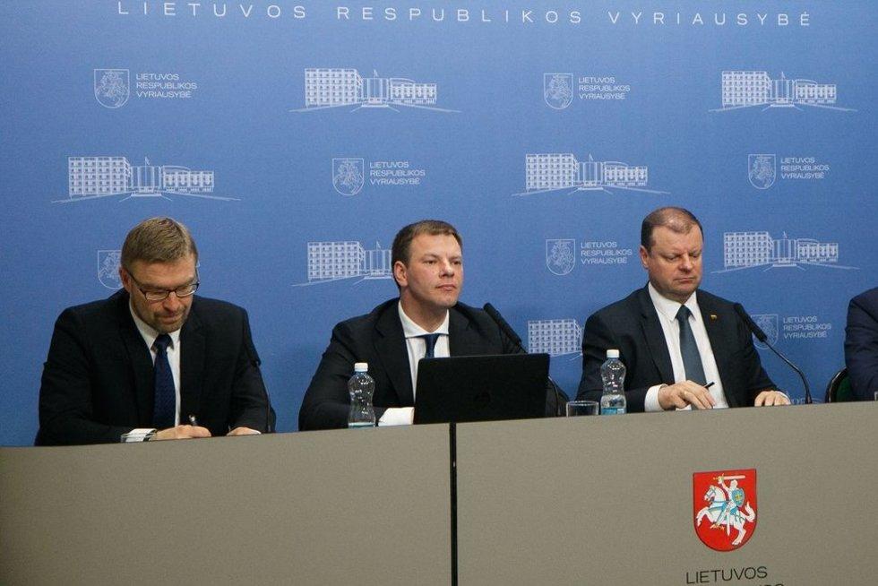 Slaptoji mokesčių reforma pagaliau pristatyta oficialiai (nuotr. Tv3.lt/Ruslano Kondratjevo)
