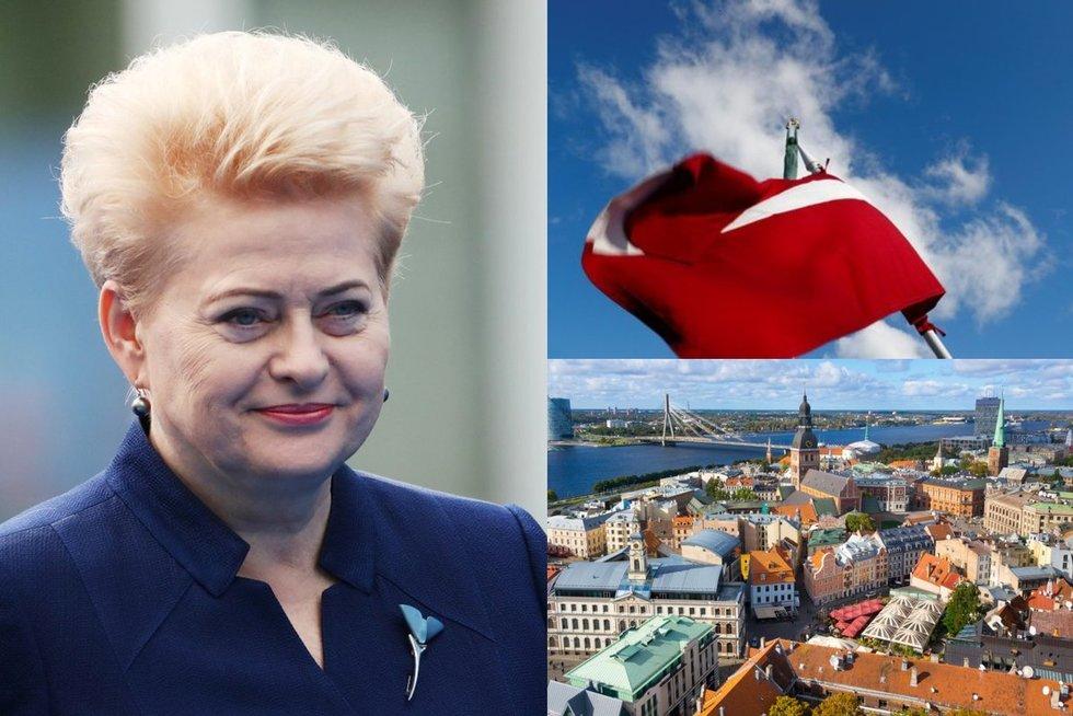 Prezidentė D. Grybauskaitė (nuotr. SCANPIX) tv3.lt fotomontažas