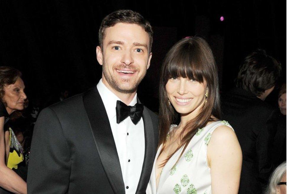 Jessica Biel ir Justinas Timberlake'as (nuotr. SCANPIX)