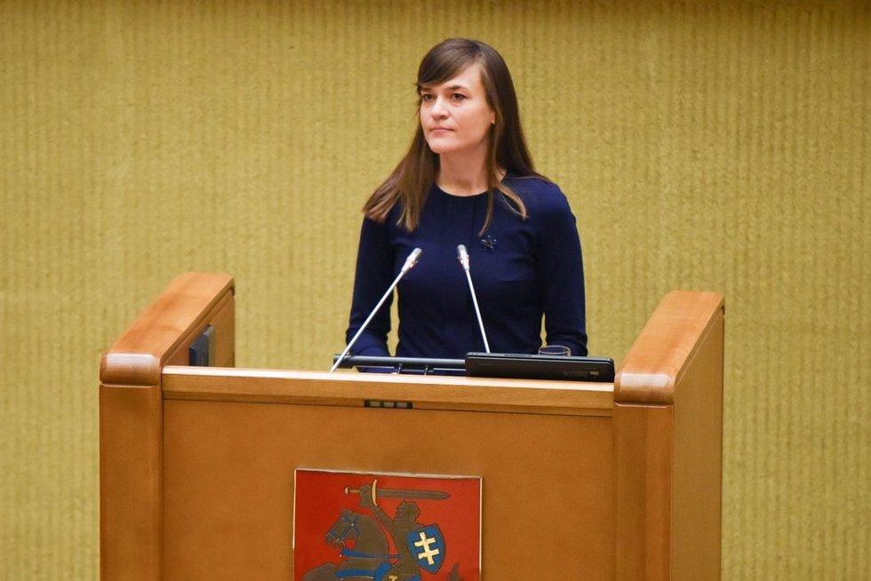 Radvilė Morkūnaitė-Mikulėnienė (nuotr. Fotodiena.lt)