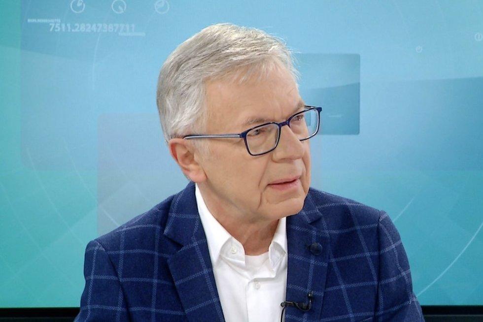 Profesorius Arvydas Ambrozaitis  (nuotr. stop kadras)