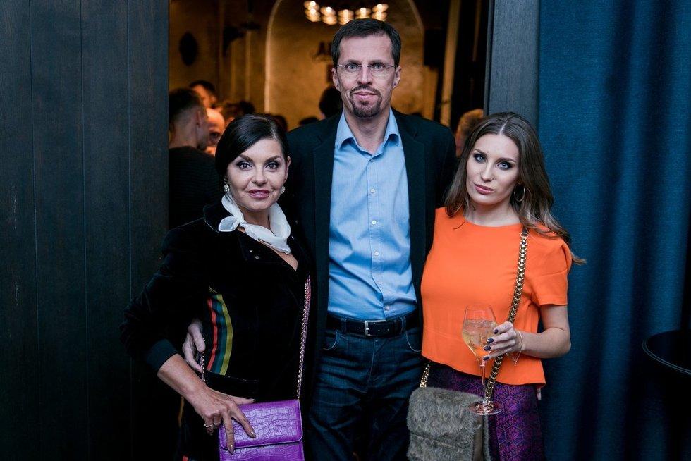 Kristina Kaikarienė su šeima (nuotr. Organizatorių)