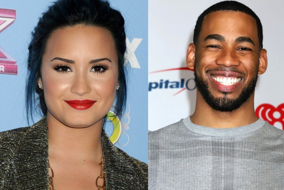 Demi Lovato ir MikasJohnsonas  (nuotr. SCANPIX) tv3.lt fotomontažas