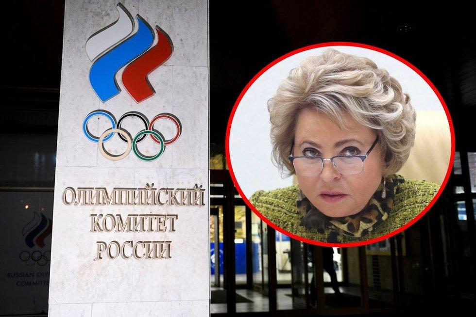 Dopinge paskendusi Rusija tūžta ir žada rengti savo olimpines (nuotr. SCANPIX)