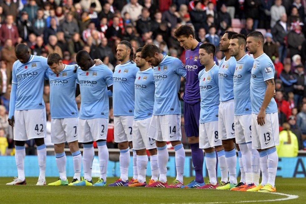 """Manchester City"" (nuotr. Alloverpress.ee)"