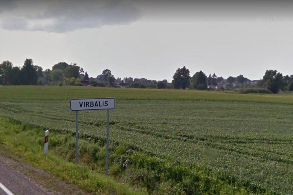Virbalio miestelis (nuotr. stop kadras)