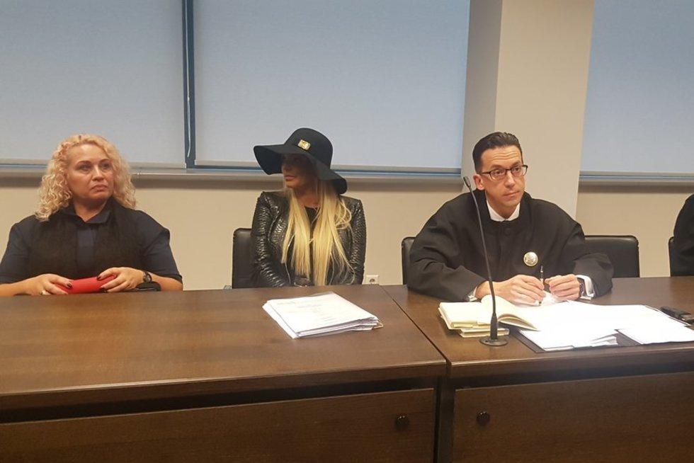 Teisme dėl Deimanto Bugavičiaus nužudymo pasirodė ir Vita Jakutienė (nuotr. TV3)