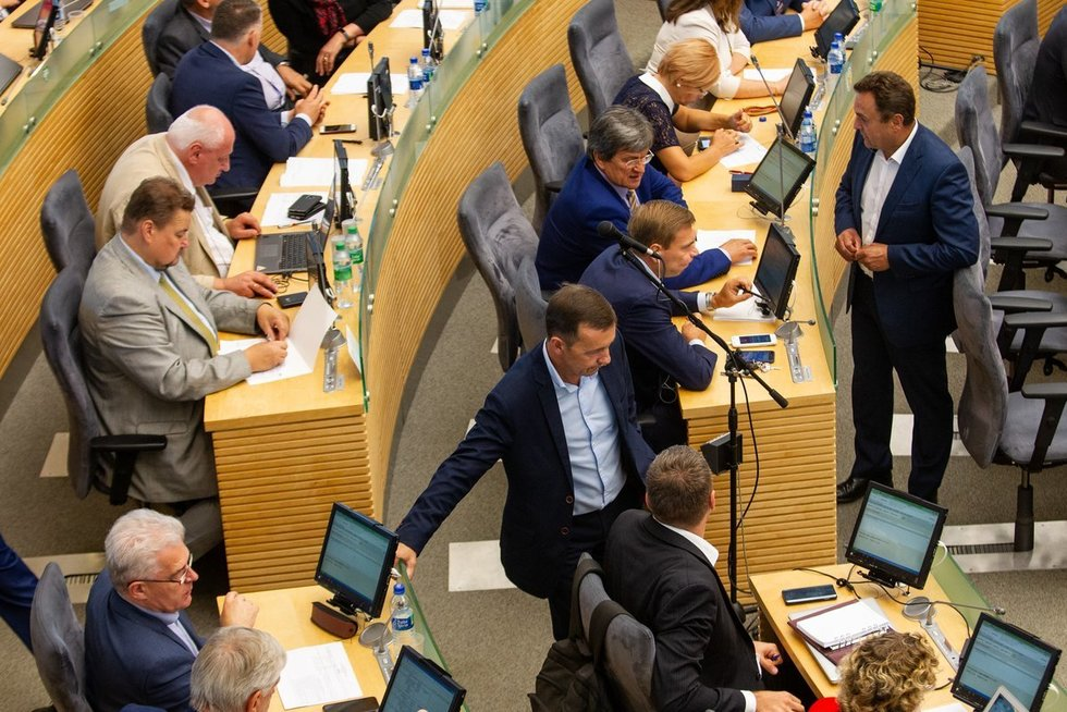 Seimas (nuotr. Paulius Peleckis/Fotobankas)