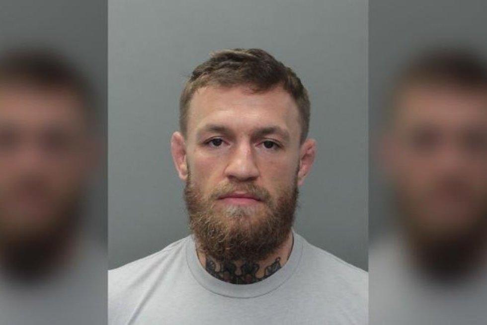 C. Mcgregoras sulaikytas (nuotr. cnbc.com)