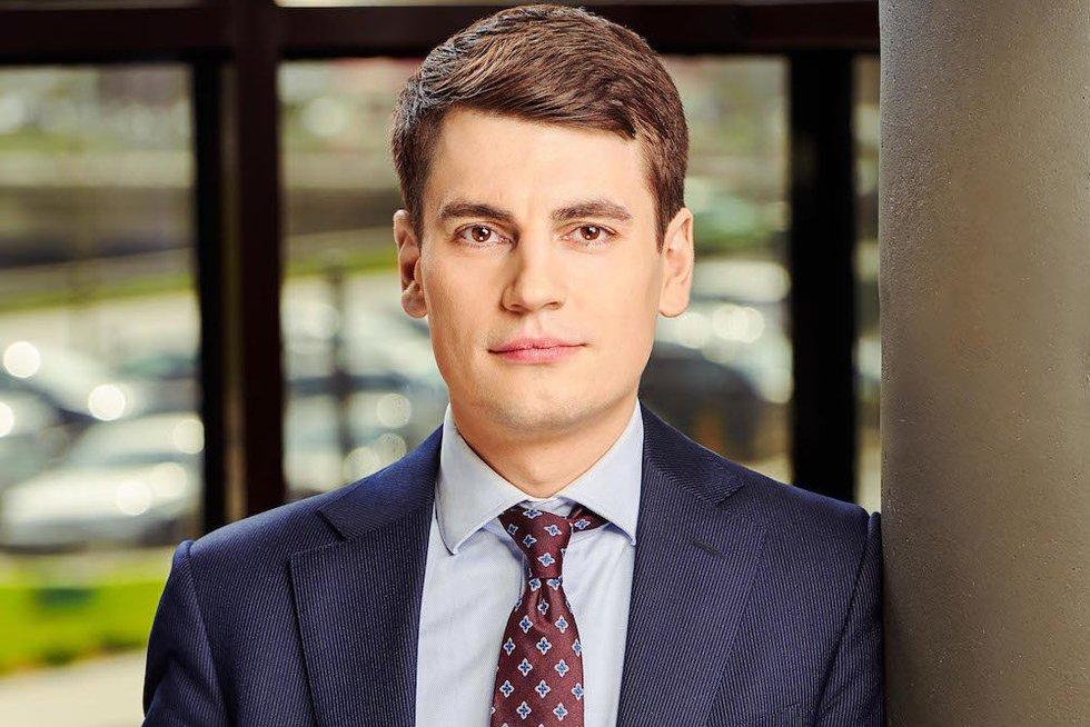 """""""Danske Bank"""" vyriausiasis Baltijos šalių ekonomistas Rokas Grajauskas  (nuotr. asm. archyvo)"""