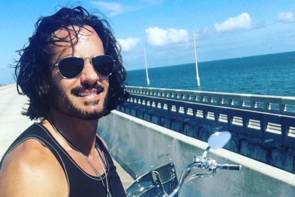 Mario Cimarro  (nuotr. Instagram)