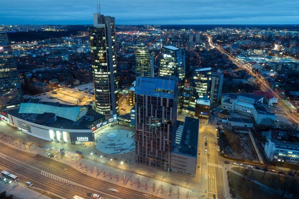 Vilniaus miesto savivaldybė (nuotr. Sauliaus Žiūros)