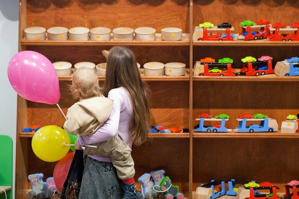 parduotuvė (nuotr. Fotodiena.lt/Audriaus Bagdono)