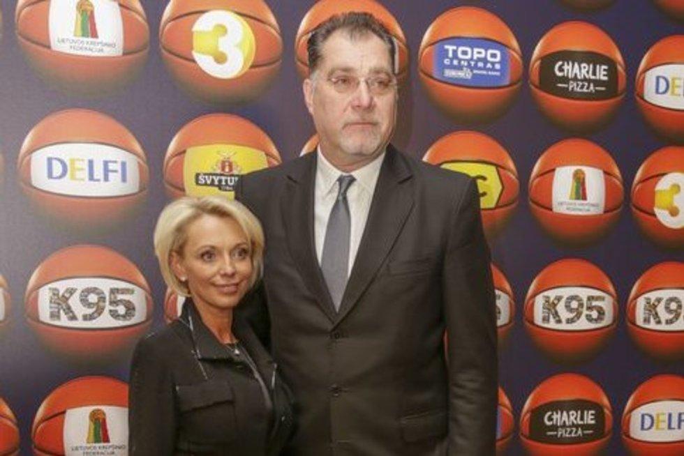 Arvydas ir Ingrida Saboniai (nuotr. Fotodiena.lt)