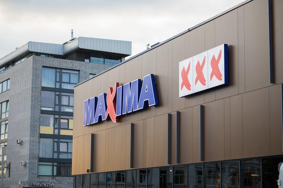 """Atsinaujinusi Mindaugo g. """"Maxima"""" bus viena moderniausių Baltijos šalyse (nuotr. Organizatorių)"""