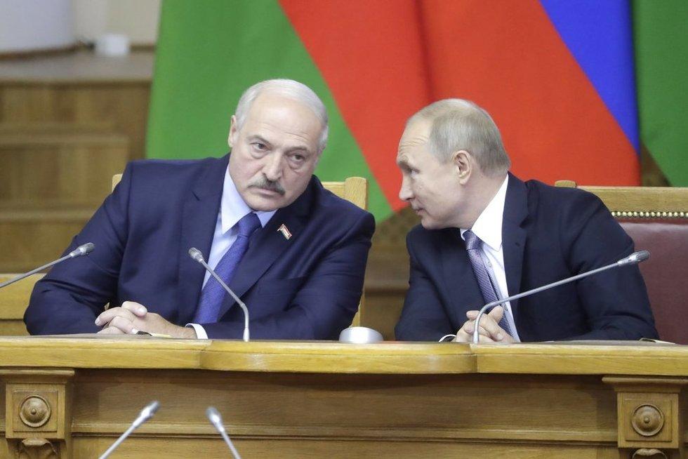 Antanas Valionis. Ar gresia Putino antšliusas Baltarusijai? (nuotr. SCANPIX)