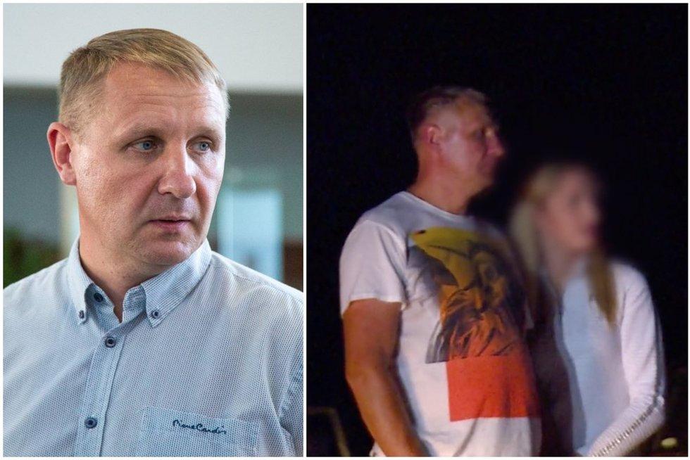 """Andrius Šedžius su drauge Erdvile pateko į laidą """"Farai"""" (tv3.lt fotomontažas)"""