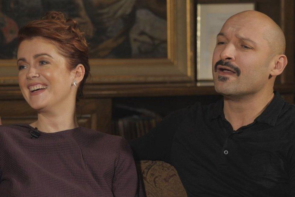 E. Jennings ir J. Didžiulis (nuotr. TV3)