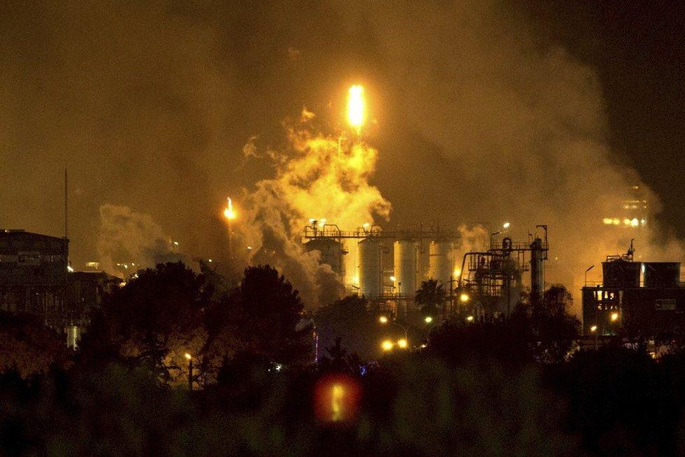 Ispanijoje nugriaudėjo galingas sprogimas (nuotr. Scanpix)