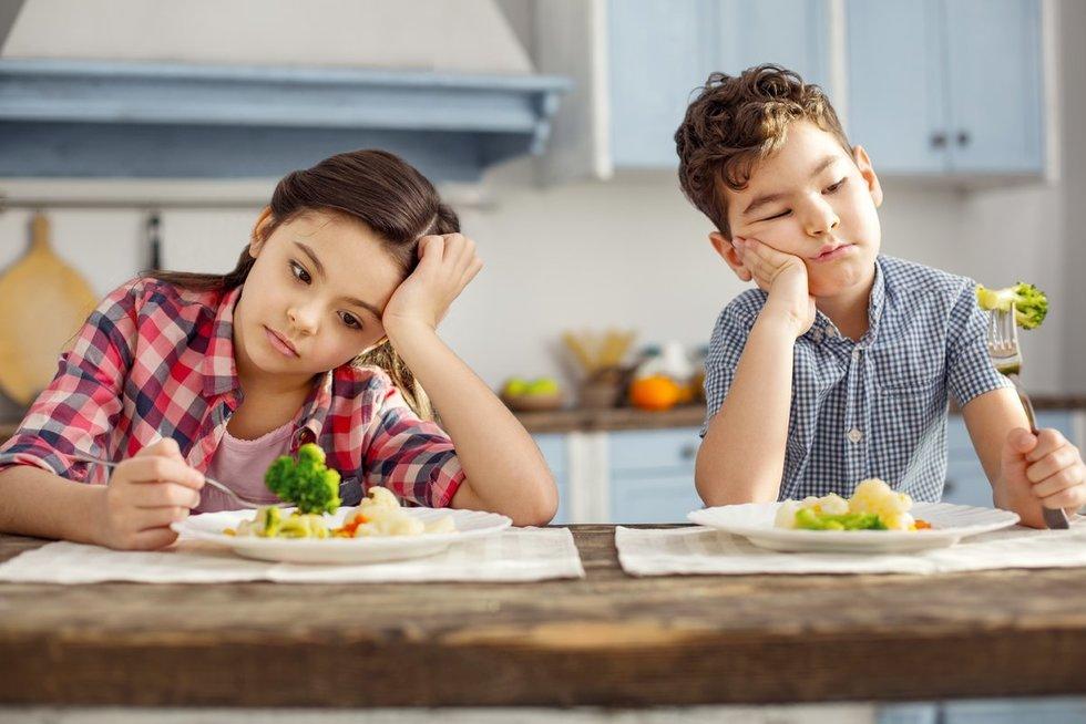 Vaikų mitybos įpročiai (nuotr. 123rf.com)