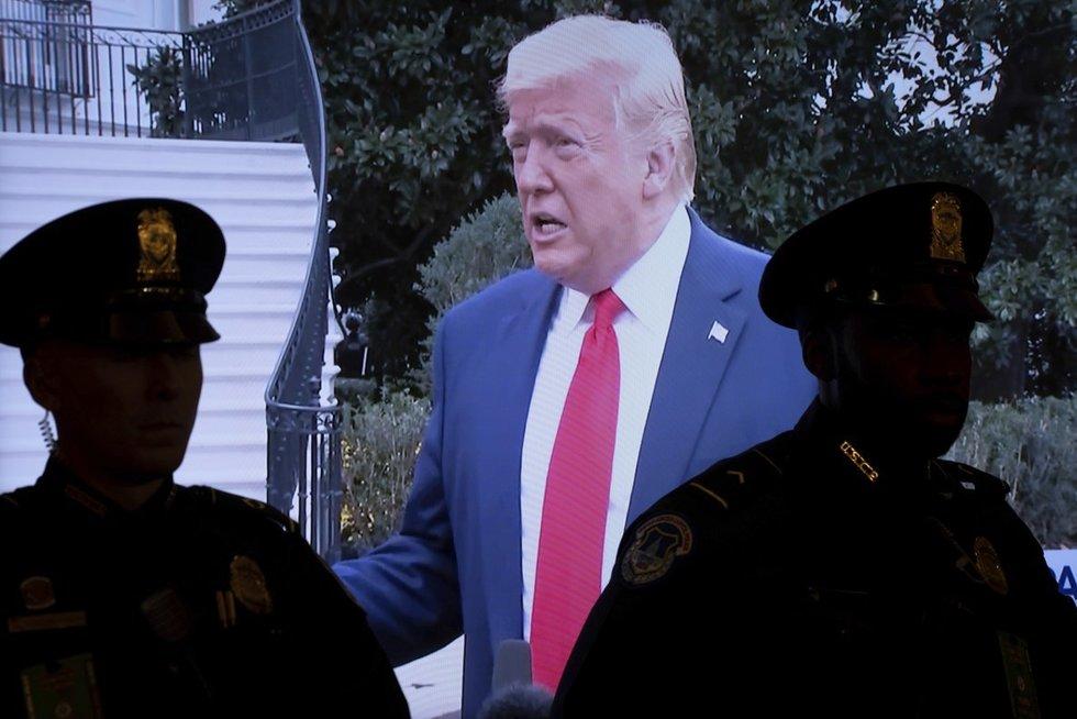 JAV prezidento krizė: demokratai įpareigoti rengti apkaltą (nuotr. SCANPIX)
