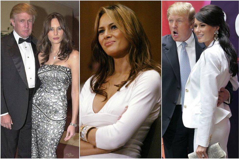 Melania Trump (tv3.lt fotomontažas)
