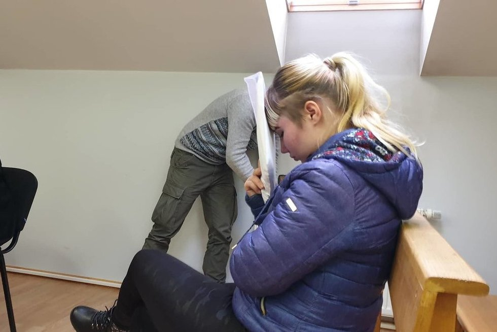 Sumušto kūdikio mama suimta mėnesiui (nuotr. Raimundas Maslauskas/TV3)