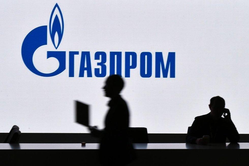 """Rusijos dujų koncernas """"Gazprom"""" (nuotr. SCANPIX)"""