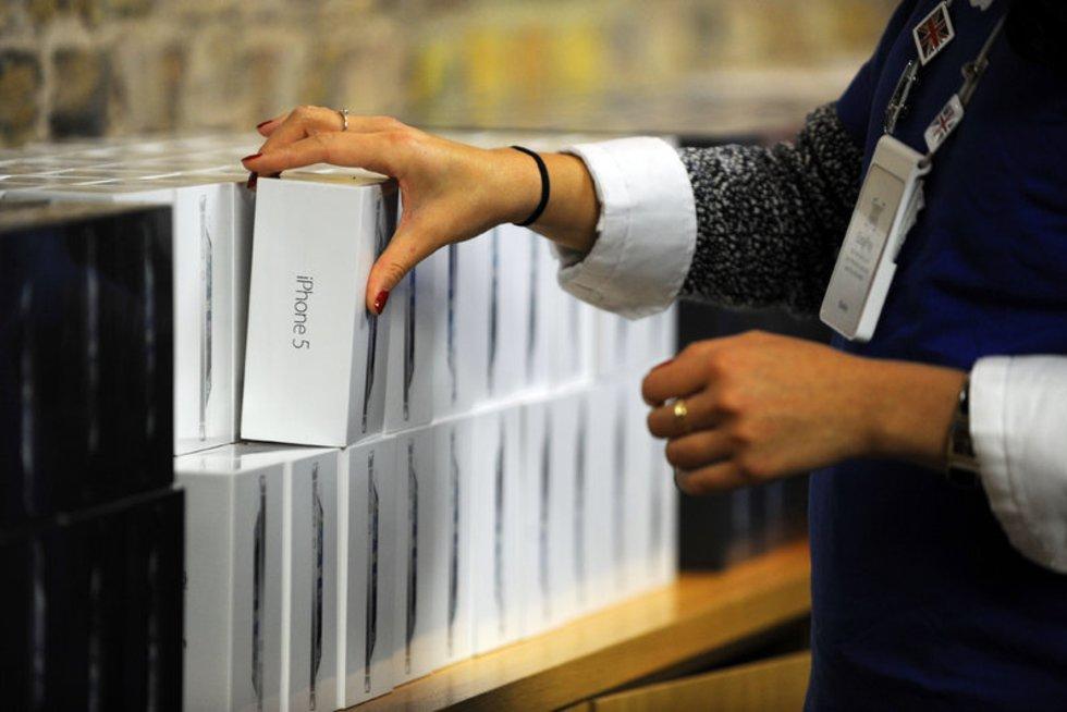 iPhone (nuotr. Alloverpress.ee)