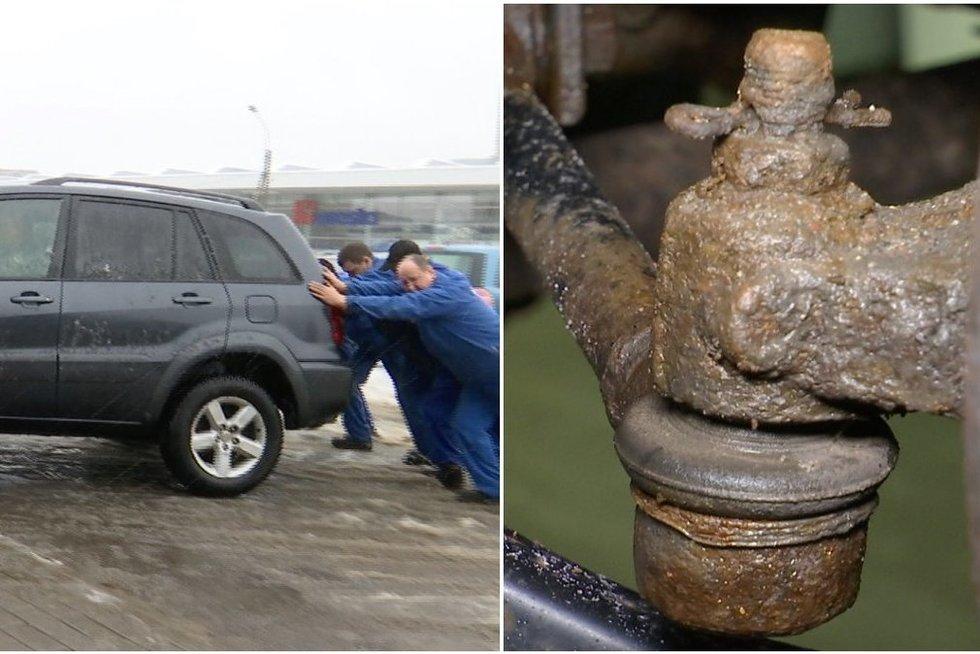 Įspėja automobilių savininkus: dėl druskų keliuose gresia dideli nemalonumai