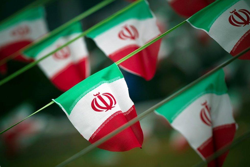 Irano vėliava (nuotr. SCANPIX)