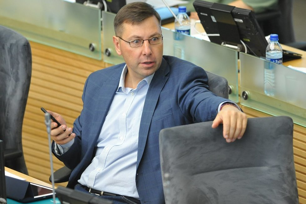 Gintaras Steponavičius (nuotr. Fotodiena.lt)
