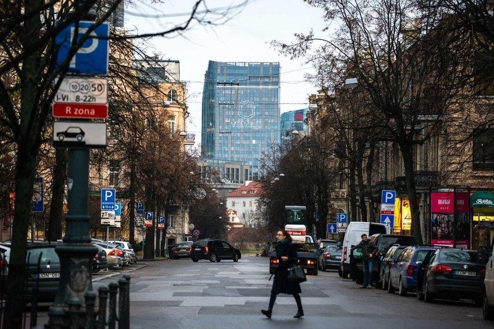 Ruduo Vilniuje (nuotr. Justinas Auškelis/Fotodiena)