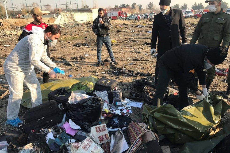 Sudužus Ukrainos lėktuvui žuvo 176 žmonių (nuotr. SCANPIX)