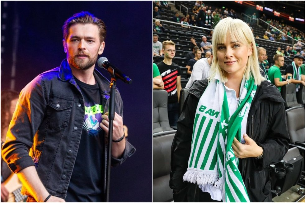 Jurijus Veklenko ir Inga Jankauskaitė (tv3.lt fotomontažas)