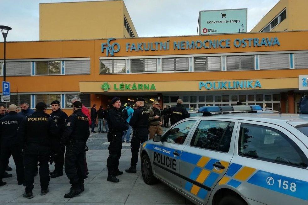 Čekijos ligoninėje įvyko šaudynės (nuotr. SCANPIX)