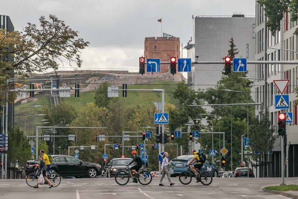 Eismas Vilniuje (nuotr. vilniustransport.lt)
