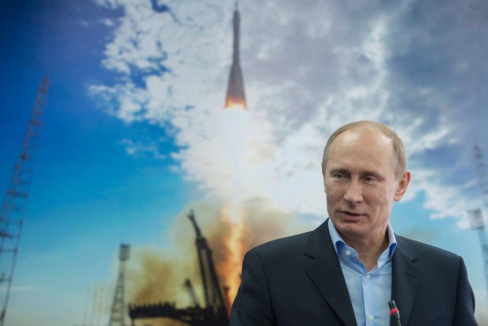 Vladimiras Putinas perspėja dėl raketų smūgio Europai grėsmės (nuotr. SCANPIX)